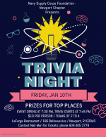Quarterly Social - Trivia Night
