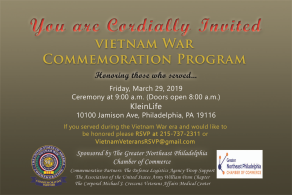Vietnam War Commemoration Program 2019