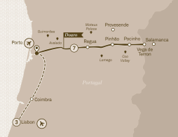 Cruise the Douro for sightseeing and wine tasting