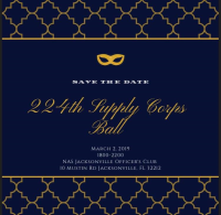 Supply Corps Ball 2019