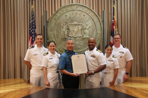 NSCF Hawaii Chapter Recognized by Governor Ige