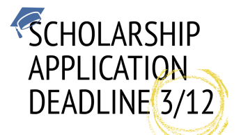 2021 Foundation Scholarship Applications due 3/12
