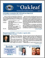 July Oakleaf NOW Online!