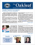 MARCH 2019 OAKLEAF NOW ONLINE!